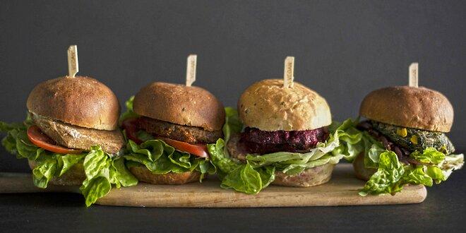 Kvalitní veganské burgery a stripsy české výroby