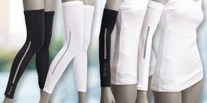 Kompresní chladivé rukávy a nohavice na kolo