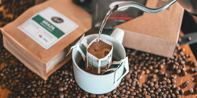 Kávy Drip it ve speciálních filtrech: 4 druhy i mix