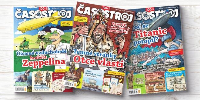 Kompletní ročník dětského magazínu Časostroj 2021
