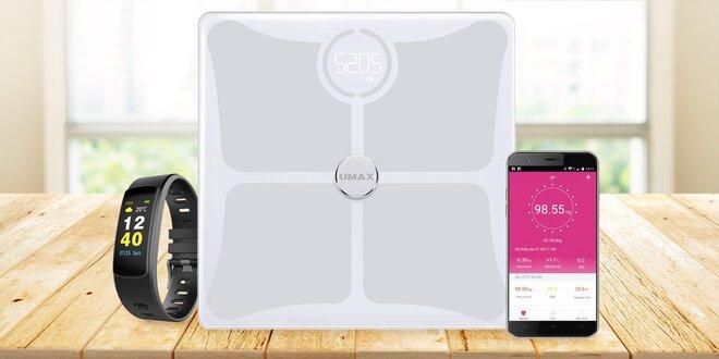 Chytrá váha Umax Smart Scale + multifunkční náramek