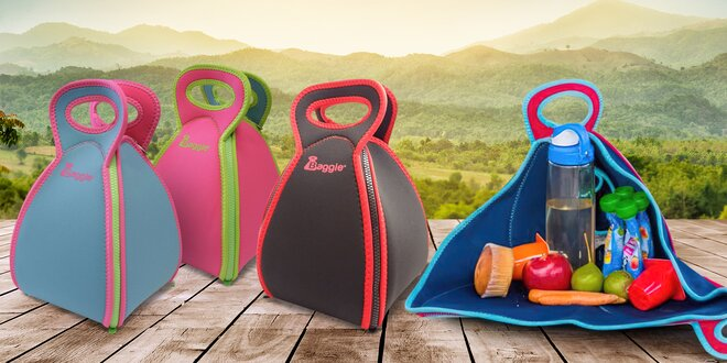 Termoizolační tašky Baggie na potraviny i nápoje
