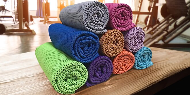 Chladicí ručníky a osušky: osvěžení na sport i výlety