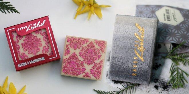 Exkluzivní mýdla a solné kameny Savon de Lisoleil