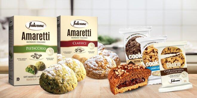 Italské sušenky: pistácie, citrusy i čokoláda