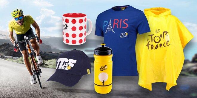 Oficiální kšiltovky a suvenýry z Tour de France