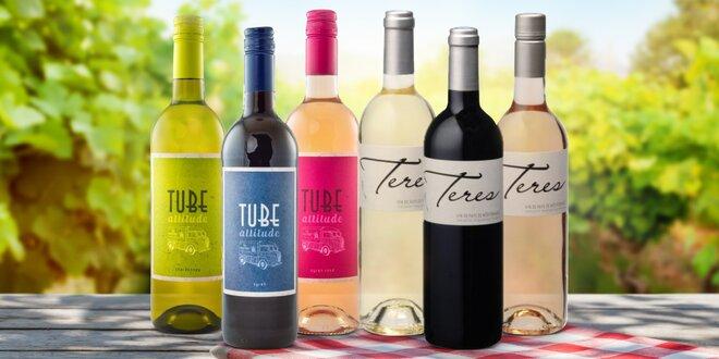 Sety francouzských vín z Provence a Languedoc
