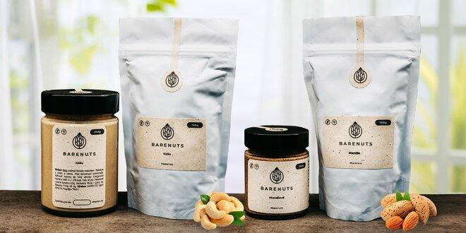 Mandlové i kešu balíčky laskomin od Barenuts