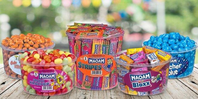 Bonbony Maoam s příchutí ovoce, coly i malin