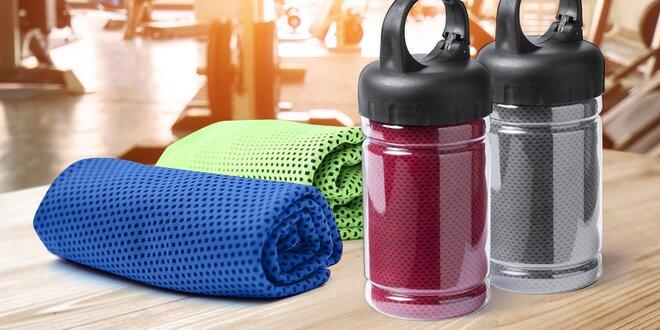 Chladicí ručníky pro rychlé osvěžení v devíti barvách