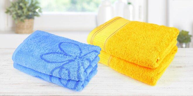 Bambusové a bavlněné froté ručníky a osušky