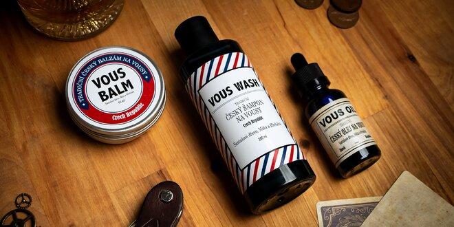 Přípravky na vousy: přírodní suroviny, vůně i péče