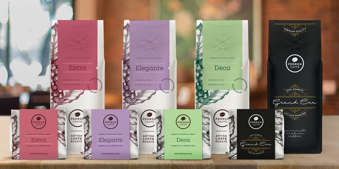 Cafe Pedron: kávové směsi Arabiky a Robusty