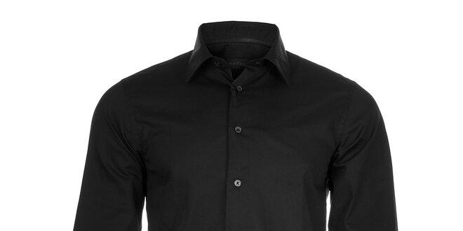 Pánská černá košile Calvin Klein  611df86487