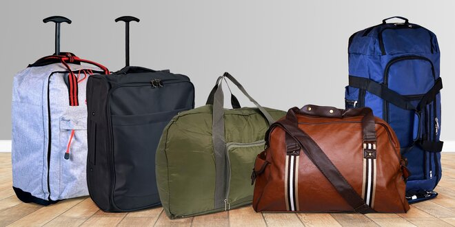Skládací tašky, batohy na záda i kufry s kolečky