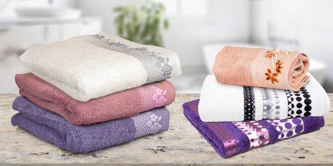 Froté osušky a ručníky: 100% bavlna vysoké gramáže