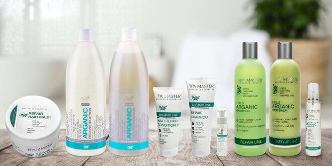 Arganová kosmetika Spa Master pro krásné vlasy