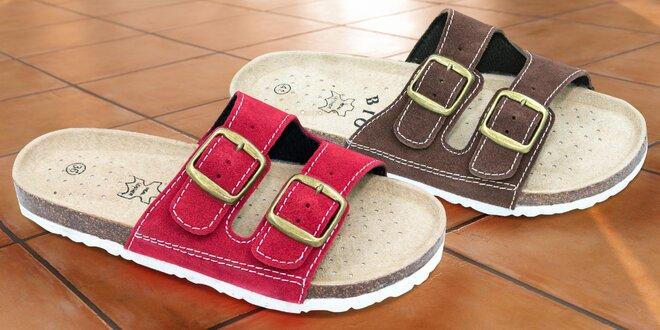Pohodlné domácí pantofle pro pány i dámy