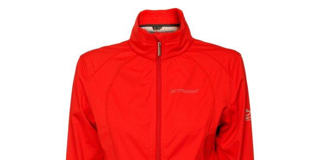 Dámská červená softshellová bunda Trimm