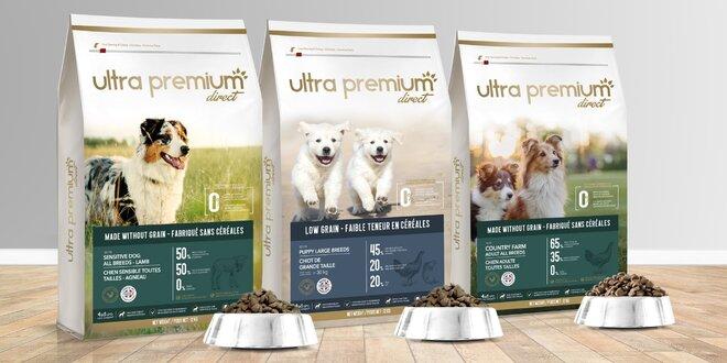 Kvalitní granule pro štěňata, dospělé i citlivé psy