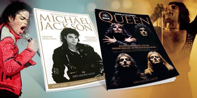 Biografie o Michaelovi Jacksonovi a kapele Queen
