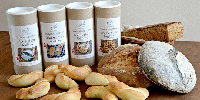 Balíčky s kváskem: upečte si chléb, rohlíky i vánočku