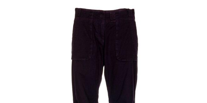 Dámské tmavě fialové kalhoty Hannah