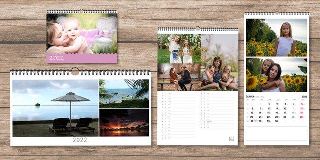 Fotokalendář z vašich fotek: A4, A3, panorama