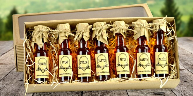 Dárkové balení medovinek na každý den v týdnu
