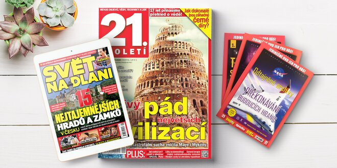 Roční předplatné časopisu 21. století s bonusy