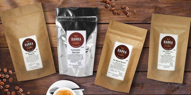 Zrnková káva z Latinské Ameriky: 200 nebo 1000 g