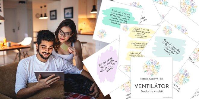 Hra plná emocí pro páry i jednotlivce: Ventilátor