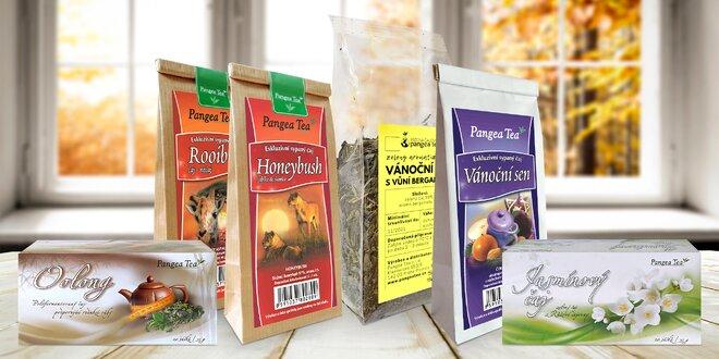 Sypané a porcované čaje pro pohodu těla i mysli