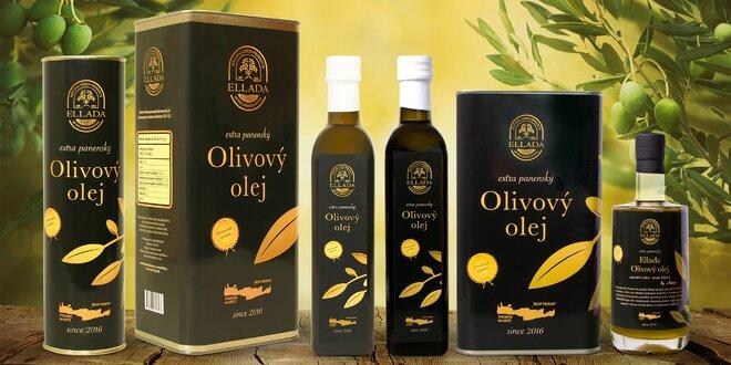 Extra panenský olivový olej, vč. nefiltrovaného