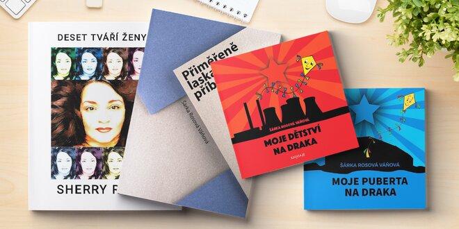 Šárka Rosová Váňová: výběr ze 4 knih