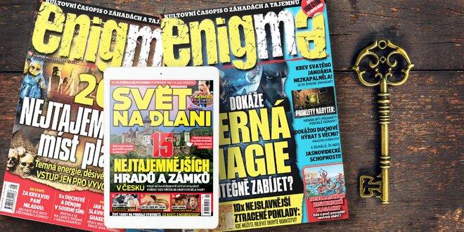 Roční předplatné Enigmy a el. verze Světa na dlani