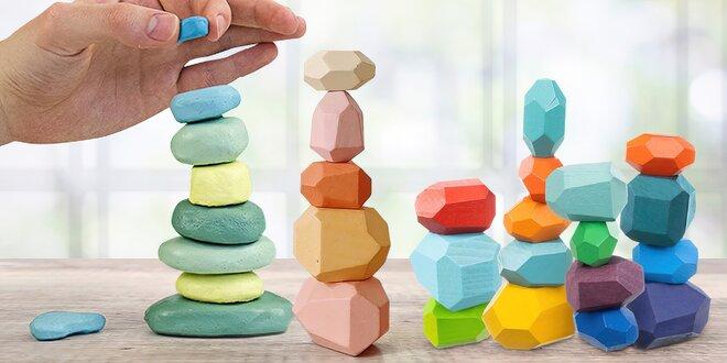 Zenové relaxační kamínky i dřevěné balanční kameny