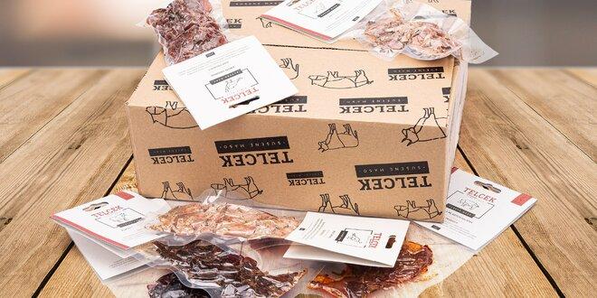 Poctivé sušené maso z Čech: vepřové, krůtí i hovězí