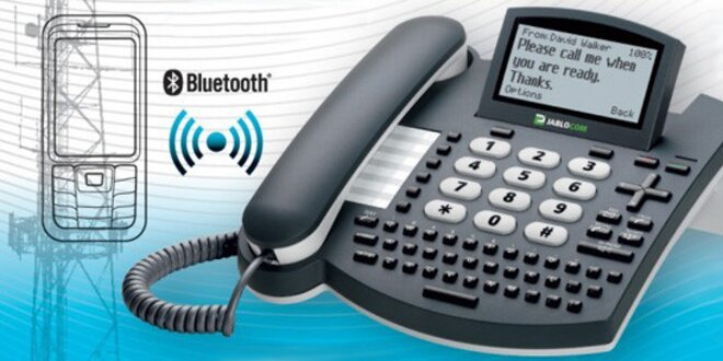 Bluetooth přístroj BlueSynergy pro mobil a pevnou linku