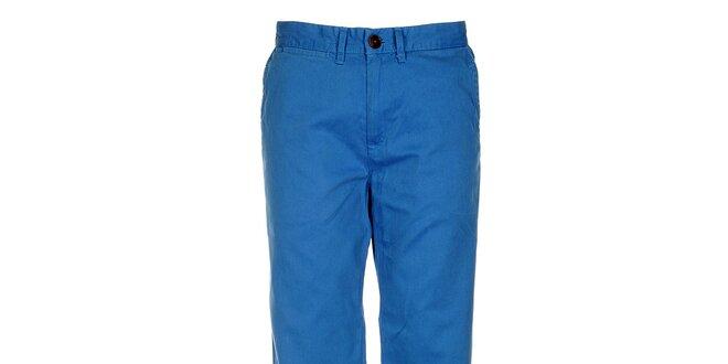 Pánské zářivě modré chino kalhoty Tommy Hilfiger
