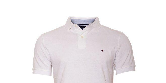Klasické bílé polo tričko Tommy Hilfiger