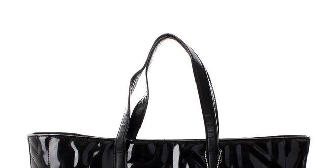Dámská černá prošívaná kabelka DKNY