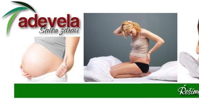 Odstranění bolestí zad a uvolnění páteře u těhotných žen v délce 60 minut