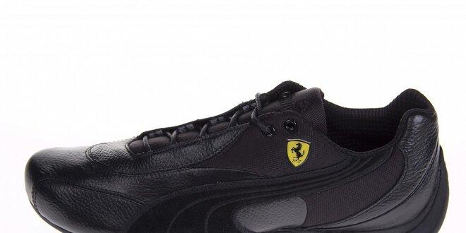 Pánské černé tenisky Puma Ferrari