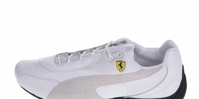 Pánské bílé tenisky Puma Ferrari  aa711319a6
