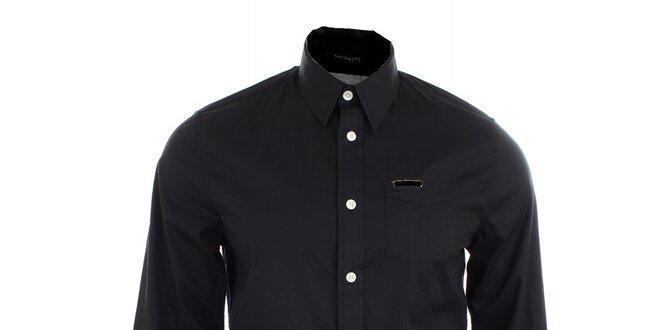 Pánská černá košile Pepe Jeans  6ec4e964fe