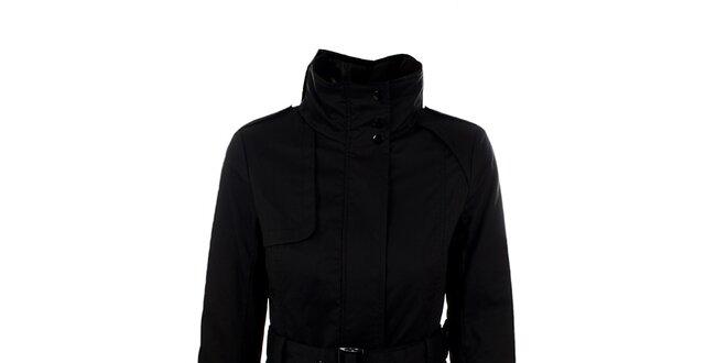 Dámský černý dlouhý kabátek s páskem Company Co  b5271ee3ee6