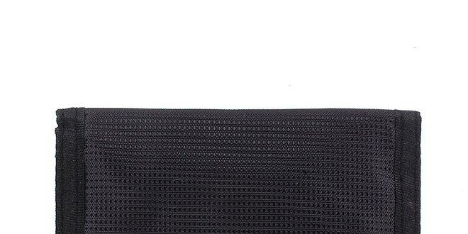 Černá peněženka s logem Fundango