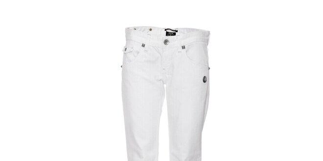 7df9148c477 Moderní dámské bílé džíny značky Rare s ozdobnými prvky