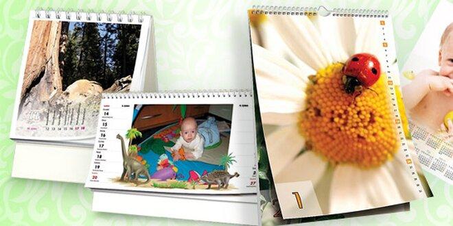 Krásné kalendáře z vlastních fotek